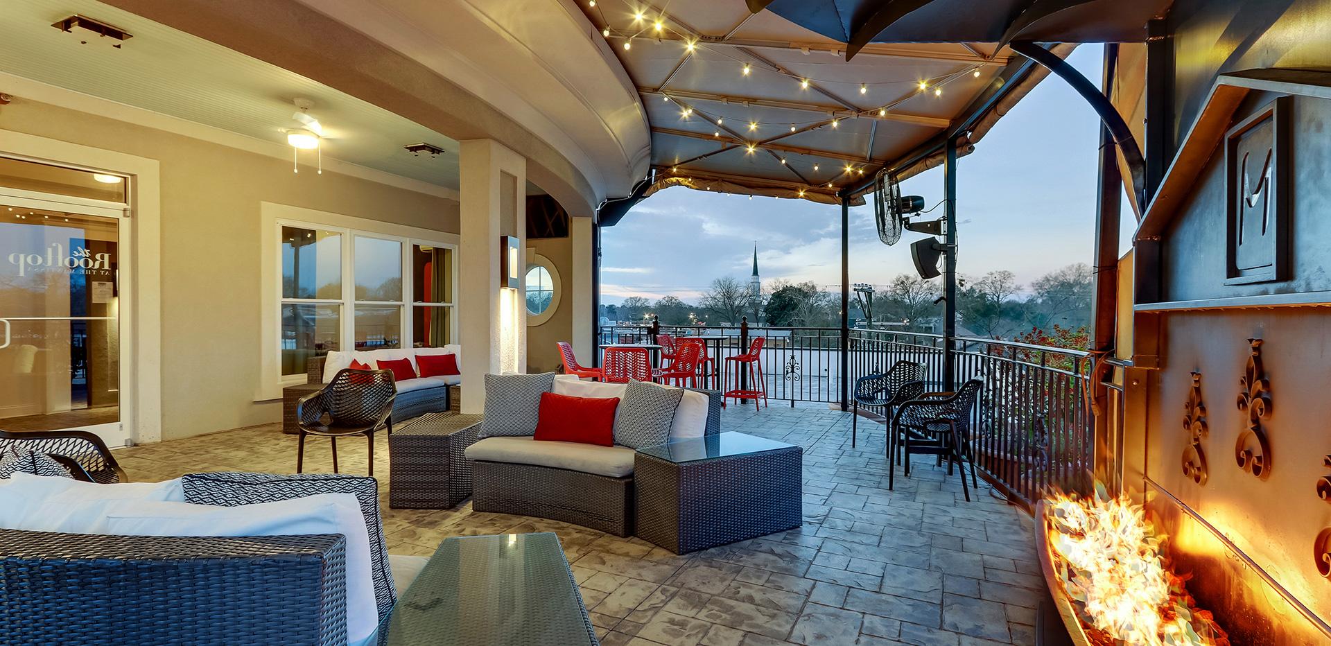 Mantissa Rooftop Bar Hartsville SC